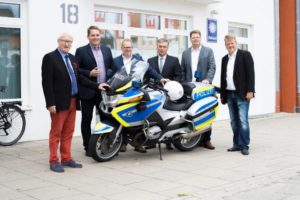 (v.l. Alfred Lindner, Stefan Botterhuis, Stefan Gutendorf, Clemens Lammerskitten, Stefan Düing, Dr. Denis Schratz)